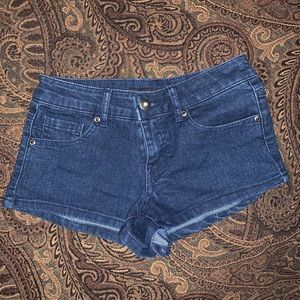 Forever 21 denim shorts sz 24 blue denim
